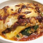 Lasagna al Brasato (stuffed with boneless short ribs)