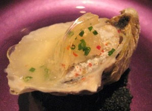 oyster 300x220 Oyster amuse bouche