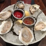 oysters 150x150 Lunch at Michael Mina's
