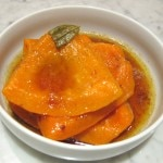 Roasted McGrath Farms pumpkin