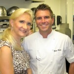 Chris Crary, chef de cuisine at Whist and Top Chef season 9 contestant with Sophie Gayot