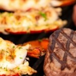 Maine Surf & Turf: lobster tails and filet mignon