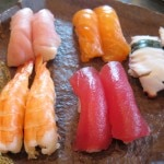 sushi assortment 150x150 Sushi, Zen and Shizen