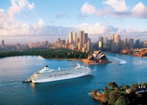 Crystal Cruises' Crystal Symphony in Sydney
