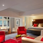 A suite at the Andaz Liverpool Street London