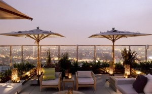 The view from the Andaz West Hollywood