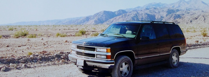 GM - Chevrolet Tahoe in California's Death Valley National Park