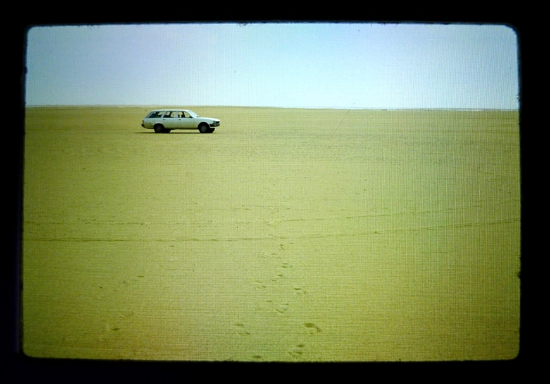The Peugeot 505 station wagon conquers the Sahara