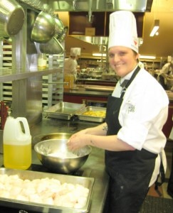 Helen Hayes, The Culinary Institute of Charleston at Trident Technical College