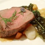 Jennifer Kim - Seared veal top round