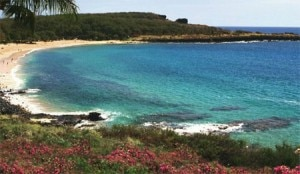 Manele Bay on Lanai, one of our Top 10 Beaches in Hawaii
