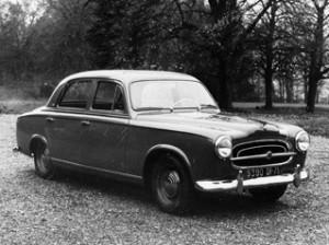 peugeot 403 300x224 1955 Peugeot 403