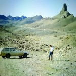On the trail of Charles de Foucauld's retreat on the Assekrem in the Hoggar Mountains