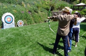 The archery range