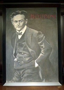 P1270451 1 213x300 Harry Houdini on the mantle
