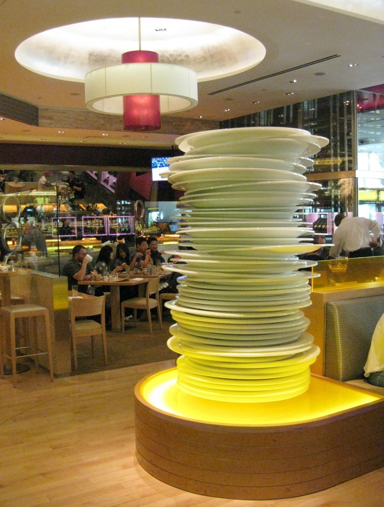 Stacked plate sculpture