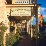 Der Lindenbaum restaurant (photo credit: Carol Barrington)