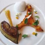 Seared foie gras de canard de Vendée
