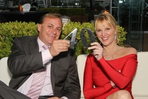 john jordan juliet huddy 300x200 CEO John Jordan and Juliet Huddy of Fox News Network