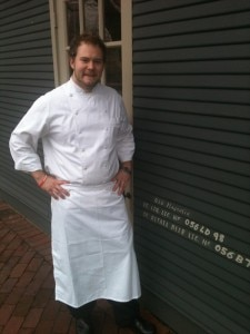 Chef Nick Sullivan of 610 Magnolia in Louisville, KY