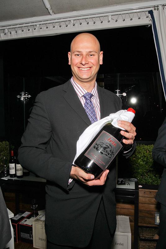Assistant winemaker Ronald Du Preez