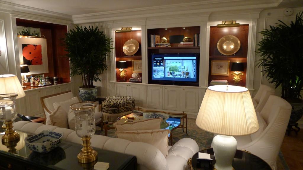Peninsula Beverly Hills Living Room