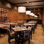The dining room of Tinto at Saguaro Palm Springs in California