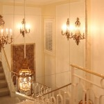 The staircase of The Peninsula Villa at The Peninsula Beverly Hills by Claudio Santini