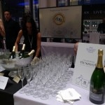 Champagne Henriot flowing freely