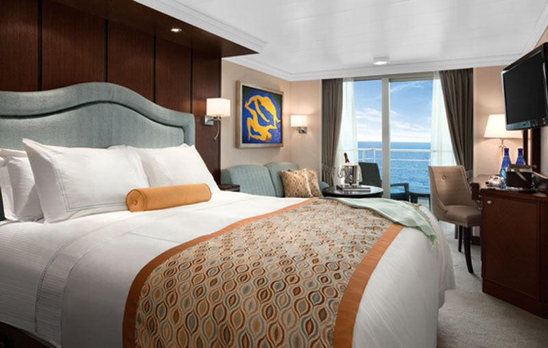 Concierge Level Veranda room on Oceania Cruises' Riviera