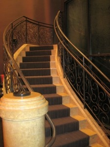 Gordon Ramsay Steak staircase