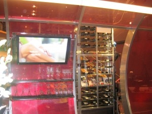 Gordon Ramsay Steak wine cellar