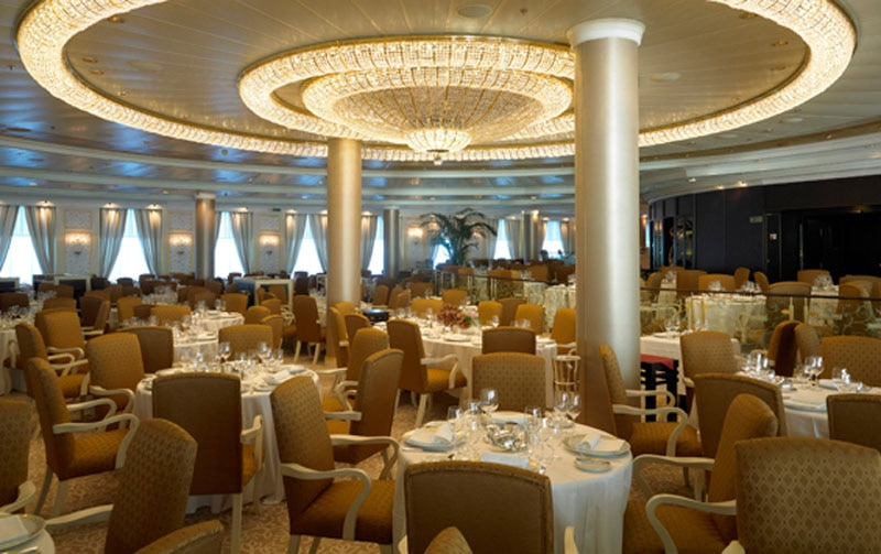 The Grand Dining Room On Oceania Cruises Riviera Gayot