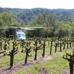 Helicopter rides from Passalacqua Winery