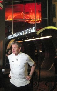 in front restaurant 188x300 Gordon Ramsay in front of his eponymous steakhouse