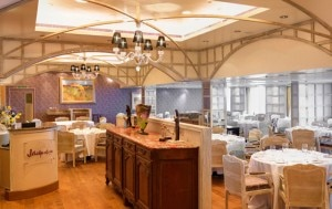 jacques 300x189 Jacques restaurant, by Jacques Pepin, on Oceania Cruises Riviera