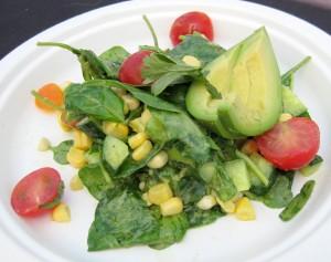 john carlos kuramoto salad 300x237 John Carlos Kuramotos salad