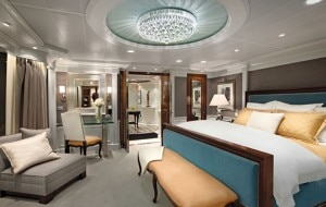 owners suite 300x190 The Owners Suite on Oceania Cruises Riviera
