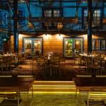 Patio of Sadie restaurant in Hollywood