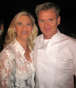sophie gayot gordon ramsay smile 260x300 Gordon Ramsay Steak Opens in Las Vegas