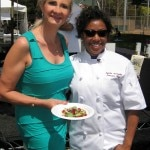 sophie gayot nyesha arrington 150x150 Chef Challenge in Santa Monica, CA