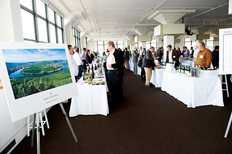 Wines of Germany display poster