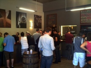 AleSmith's tasting room