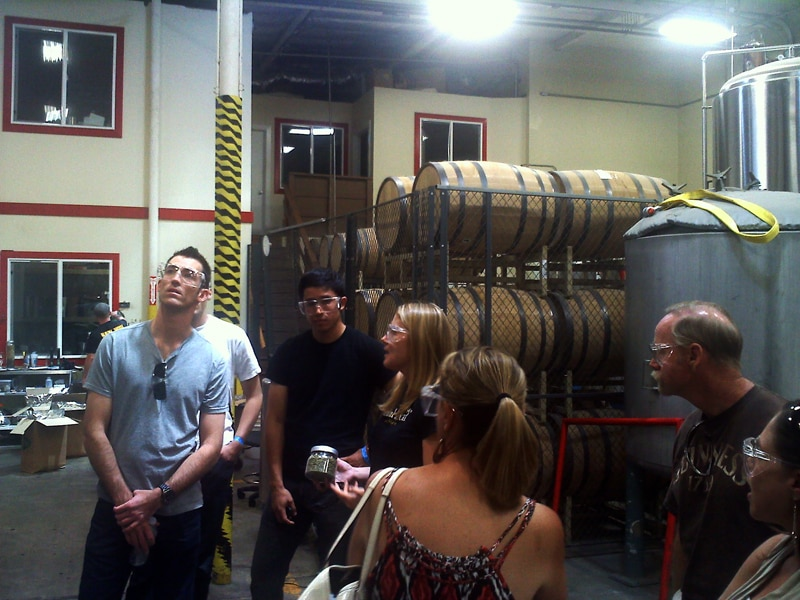 Ballast Point brewery tour