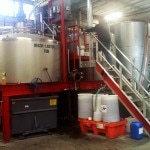 A mashing tun at Ballast Point Brewing & Spirits