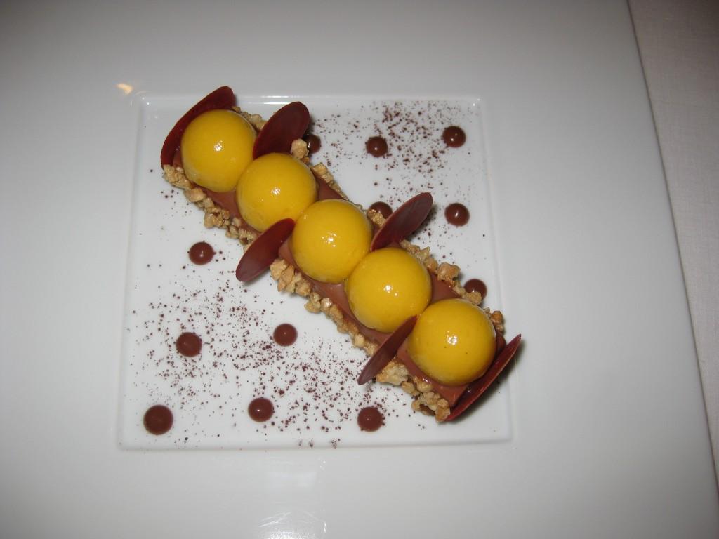 Chocolat et fruit de la passion