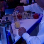 Mixing cocktails with Ciroc Vodka