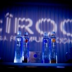 Bottles of Ciroc vodka
