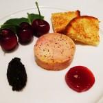 """Foie gras """"torchon"""" prepared by chef Alain Giraud"""