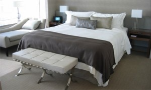 guestroom 300x178 A room at The St. Regis, San Francisco in California